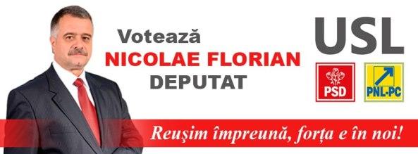 Nicolae Florian candidatul USL Deputat de Giurgiu