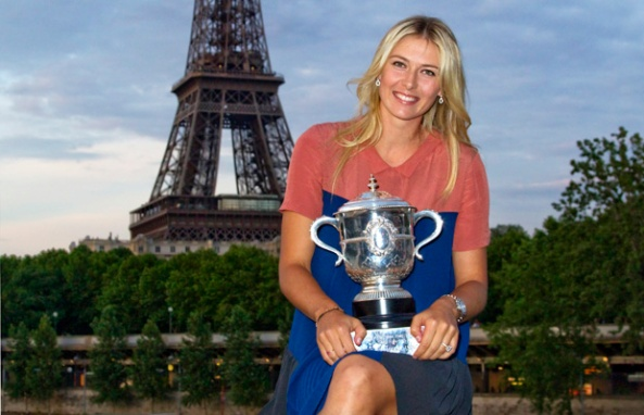Maria Sharapova Wins French Open 2014 Title — at Roland Garros.